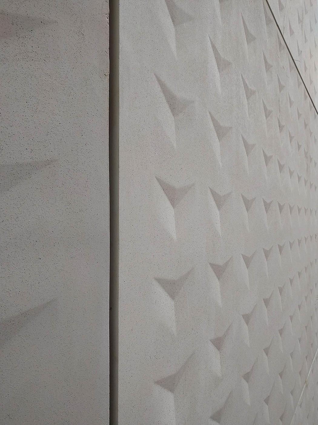 Precast Concrete Cladding Sheets : Mica working with concrete